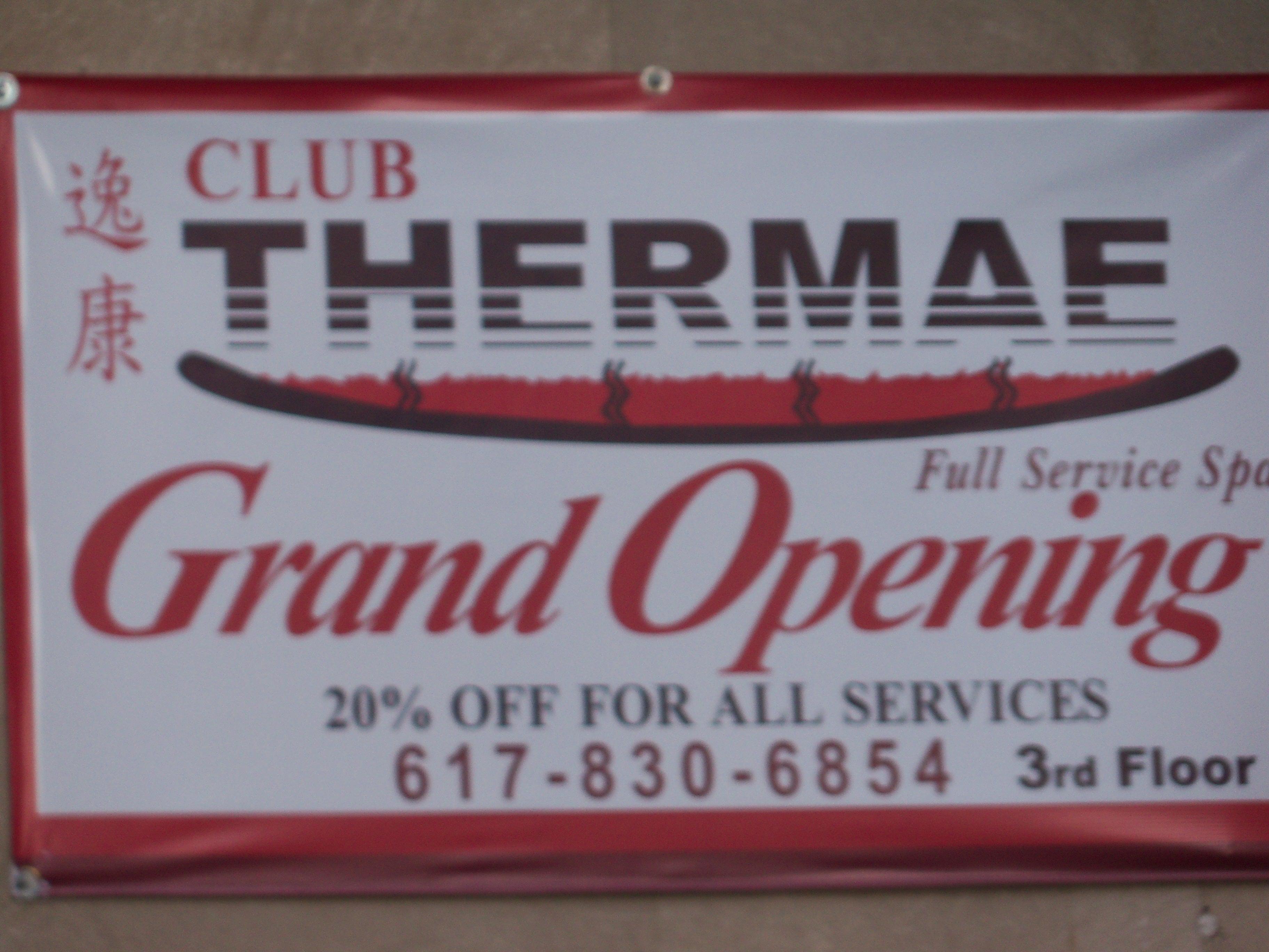 club thermae boston